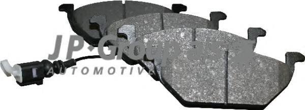 Тормозные колодки дисковые JP Group 11636010101163601010Колодки тормозные дисковые перед. / AUDI A-3,SEAT,SKODA ,VW 1.0-2.8 96 JP Group. 1163601010