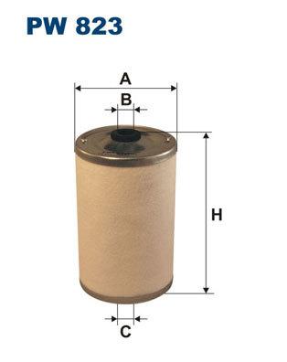Топливный фильтр Filtron. PW823PW823Фильтр топливный Filtron. PW823