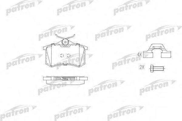 Тормозные колодки дисковые Patron PBP541