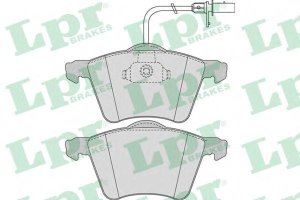 Колодки тормозные передние LPR / AP 05P97505P975