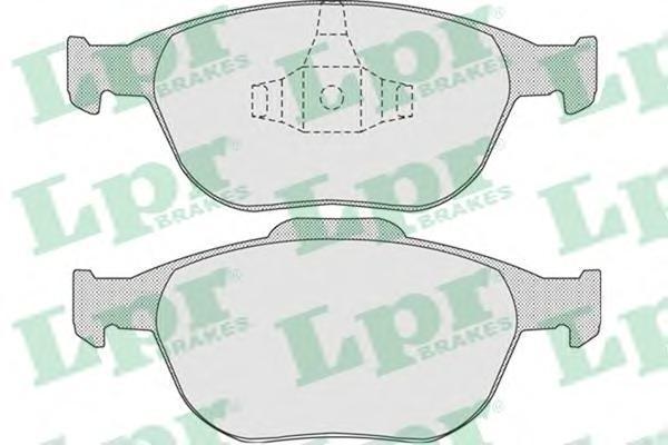 Колодки тормозные LPR / AP 05P91305P913