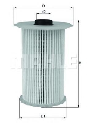 Фильтр топливный Mahle KX229DKX229D