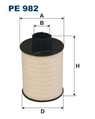 Фильтр топливный Filtron PE982PE982