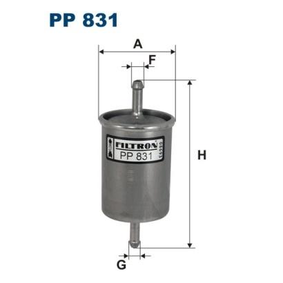 Фильтр топливный Filtron PP831PP831