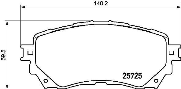 Тормозные колодки дисковые Brembo P49048P49048Колодки тормозные передние Brembo Mazda 6 12-. P49048