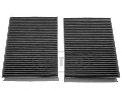 Комплект угольных фильтров салона CORTECO8000121180001211