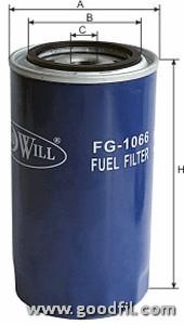 Топливный фильтр Goodwill FG1066FG1066Фильтр топл. 1066 FG GW Дв. ЯМЗ 236-238,534,7511 Goodwill. FG1066