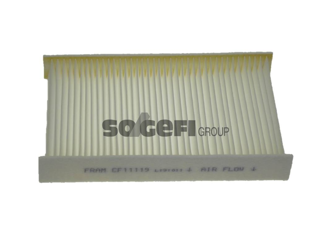 Салонный фильтр Fram CF11119CF11119Фильтр салона Fram. CF11119