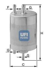 Фильтр топливный бензин UFI 31.834.0031.834.00