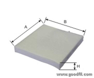 Салонный фильтр Goodwill AG514CFAG514CFСалонные фильтры Goodwill. AG514CF