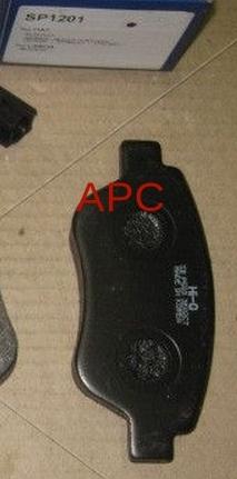 Тормозные колодки дисковые Sangsin SP1201SP1201Колодки тормозные передние Sangsin. SP1201
