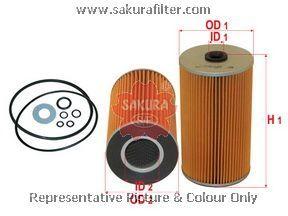 Масляный фильтр Sakura O1308O1308Фильтр масл. Sakura Sakura авто. O1308