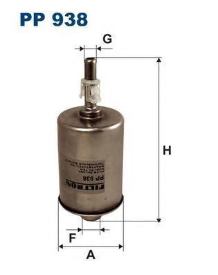 Фильтр топливный Filtron PP938PP938