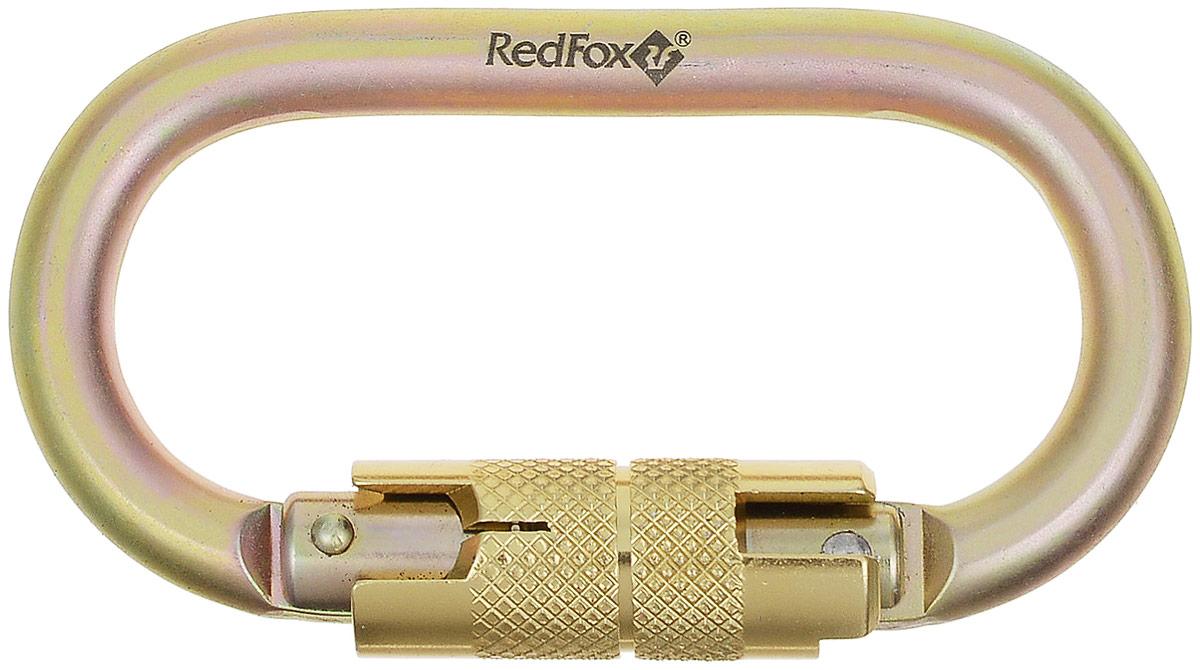 Карабин Red Fox 2440-10108 Auto, цвет: золотойvpro 0042Карабин Red Fox 2440-10108 Auto, изготовленный из прочной стали, с автоматической системойблокировки (металлическая муфта), открывается простым поворотом муфты. Стальные карабиныRed Fox производятся для применения в промышленном производстве.Характеристики: Максимальная нагрузка по продольной оси: 25 kN.Ширина открытия защелки: 18,7 мм.Вес: 186 г.Длина: 108 мм.Сертификат CE, EN 1019, 362.В комплект к изделию входит: инструкция по использованию.