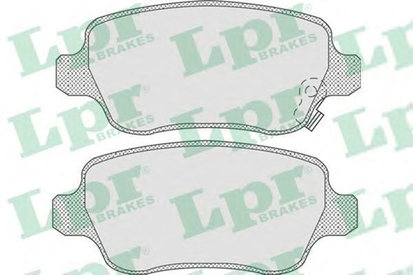 LPR / AP Колодки тормозные. 05P81105P811