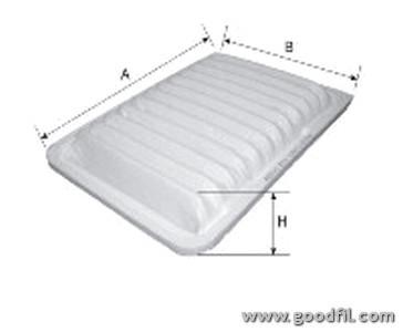 Воздушный фильтр Goodwill AG538ECOAG538ECOВоздушные фильтры Goodwill. AG538ECO
