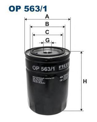 Масляный фильтр Filtron OP5631OP5631Фильтр маслянный Filtron. OP5631