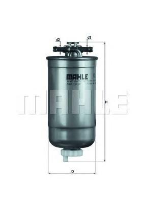 Фильтр топливный Mahle KL147DKL147D