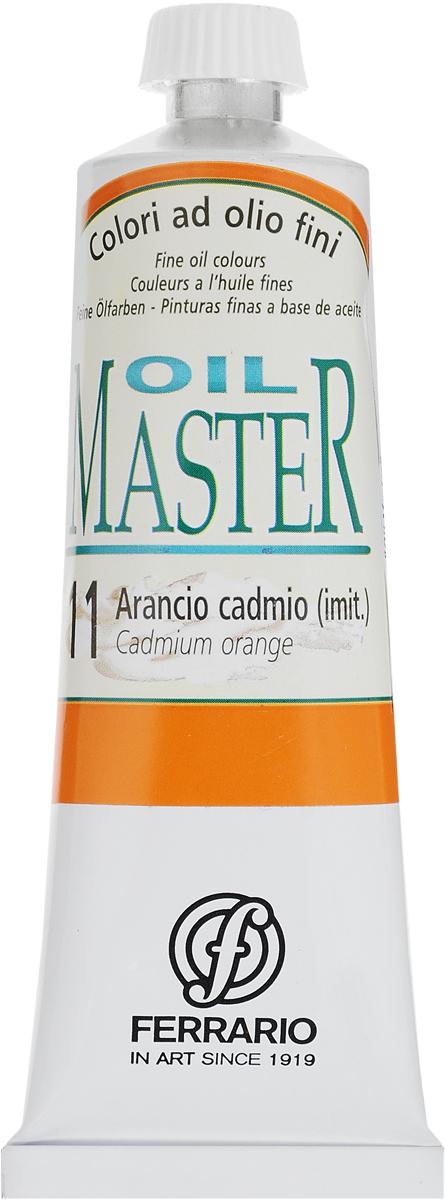Фото Ferrario Краска масляная Oil Master цвет №11 кадмий оранжевый