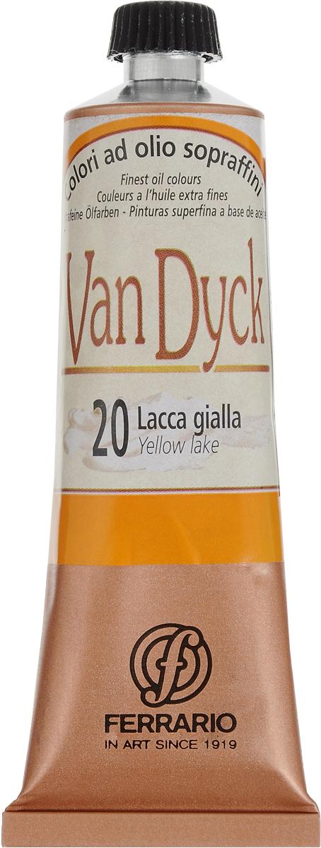 Ferrario Краска масляная Van Dyck цвет №20 желтый лакAV0017CO20Масляные краски серии VAN DYCK итальянской компании Ferrario изготавливаются из натуральных мелко тертых пигментов с добавлением качественного связующего материала. Благодаря этому масляные краски VAN DYCK обладают превосходной светостойкостью, чистотой цветов и оттенков. Краски можно разбавлять льняным маслом, терпентином или нефтяными разбавителями. Все цвета хорошо смешиваются между собой. В серии масляных красок VAN DYCK представлено 87 различных оттенков, а также 6 металлических оттенков. Дополнительные характеристики: Изготавливаются из натуральных мелко тертых пигментов с добавлением качественного связующего материала; Краски хорошо смешиваются между собой.
