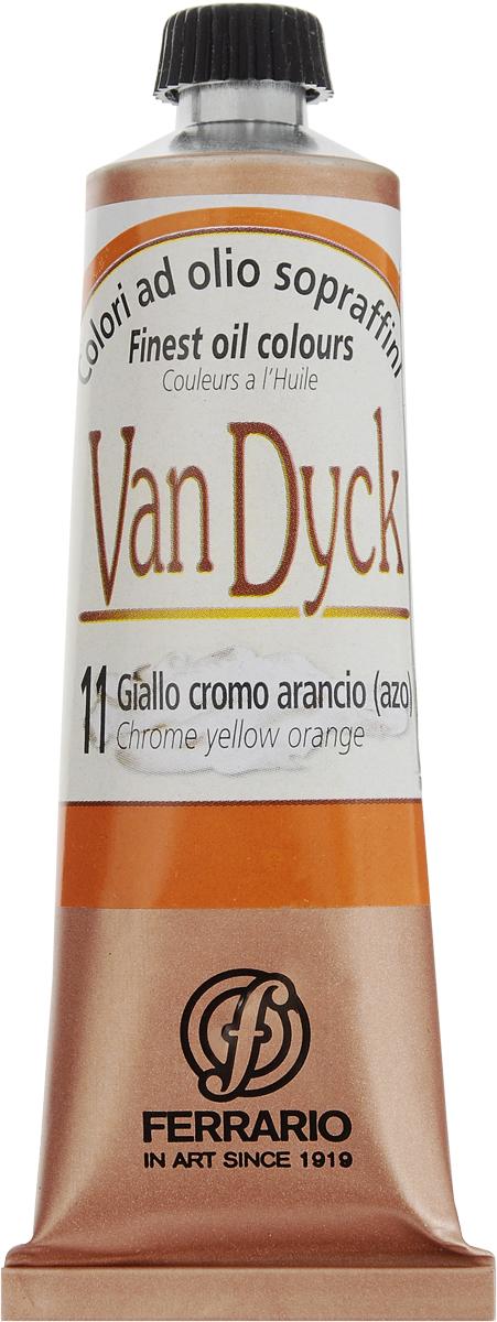 Ferrario Краска масляная Van Dyck цвет №11 хром желто-оранжевыйAV0017CO11Масляные краски серии VAN DYCK итальянской компании Ferrario изготавливаются из натуральных мелко тертых пигментов с добавлением качественного связующего материала. Благодаря этому масляные краски VAN DYCK обладают превосходной светостойкостью, чистотой цветов и оттенков. Краски можно разбавлять льняным маслом, терпентином или нефтяными разбавителями. Все цвета хорошо смешиваются между собой. В серии масляных красок VAN DYCK представлено 87 различных оттенков, а также 6 металлических оттенков. Дополнительные характеристики: Изготавливаются из натуральных мелко тертых пигментов с добавлением качественного связующего материала; Краски хорошо смешиваются между собой.