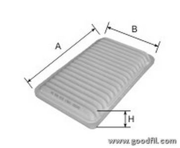 Воздушный фильтр Goodwill AG300ECOAG300ECOВоздушные фильтры Goodwill. AG300ECO