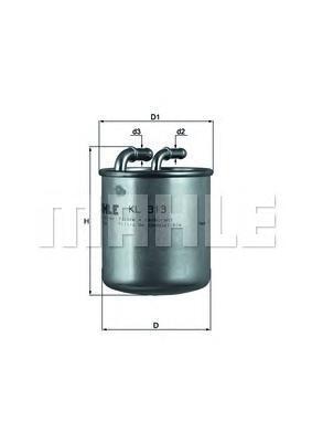 Фильтр топливный Mahle KL313KL313