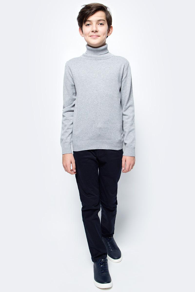 Свитер для мальчика Vitacci, цвет: серый. 1173003-02. Размер 152 броги мужские vitacci цвет серый m17048 размер 45