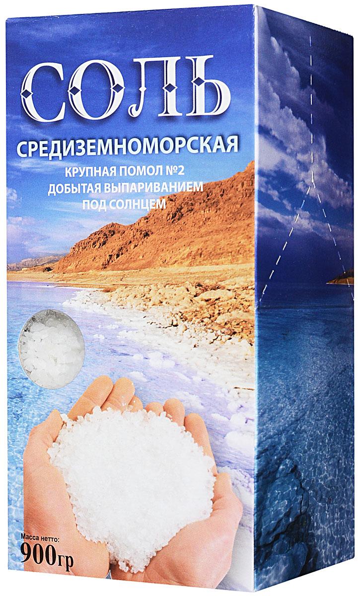 Ваше Здоровье соль средиземноморская крупная, 900 г4964Соль пищевая Средиземноморская морская крупная помол №2 900г.Садочная.Добытая выпариванием под солнцем.Рекомендуемое суточное потребление 5-6г.Соль Мертвого моря отличается высоким содержанием ионов магния, кальция, фтора, калия, йода.Она добывается путем выпаривания морской воды под воздействием солнца и ветра. Естественный способ получения соли позволяет сохранить все минералы и микроэлементы, что придает ей неповторимый вкус.Оказывает положительное воздействие на весь организм человека.Применяется для приготовления пищи, в косметологии, для принятия морских ванн.Пригодна для всех видов употребления.