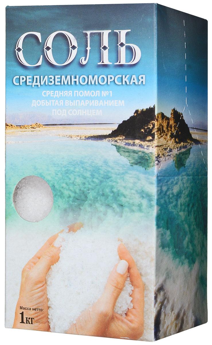 Ваше Здоровье соль средиземноморская средняя, 1 кг4965Соль Средиземного моря отличается высоким содержанием ионов магния, кальция, фтора, калия, йода.Она добывается путем выпаривания морской воды под воздействием солнца и ветра.Естественный способ получения соли позволяет сохранить все ее минералы и микроэлементы, что придает ей неповторимый вкус.Оказывает положительное воздействие на весь организм человека.Применяется для приготовления пищи, в косметологии, для принятия морских ванн.