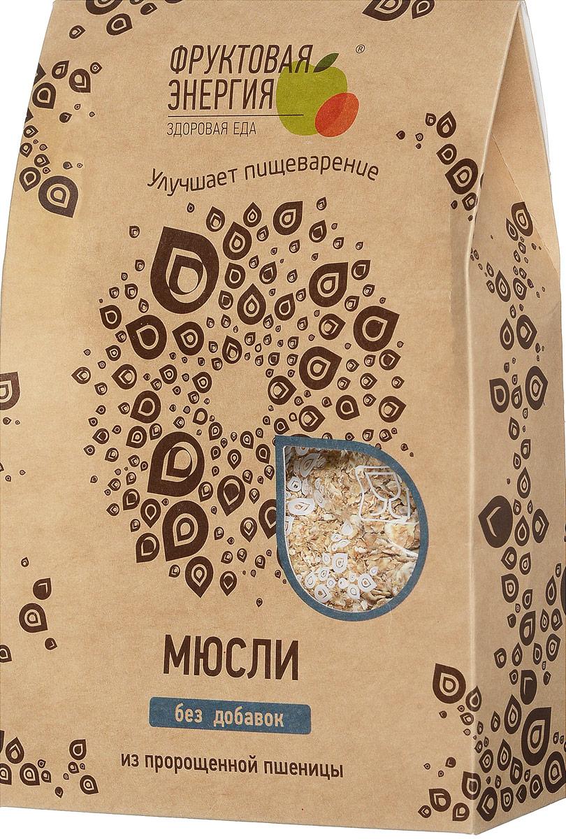 Фруктовая Энергия мюсли из пророщенной пшеницы на фруктозе, 240 г