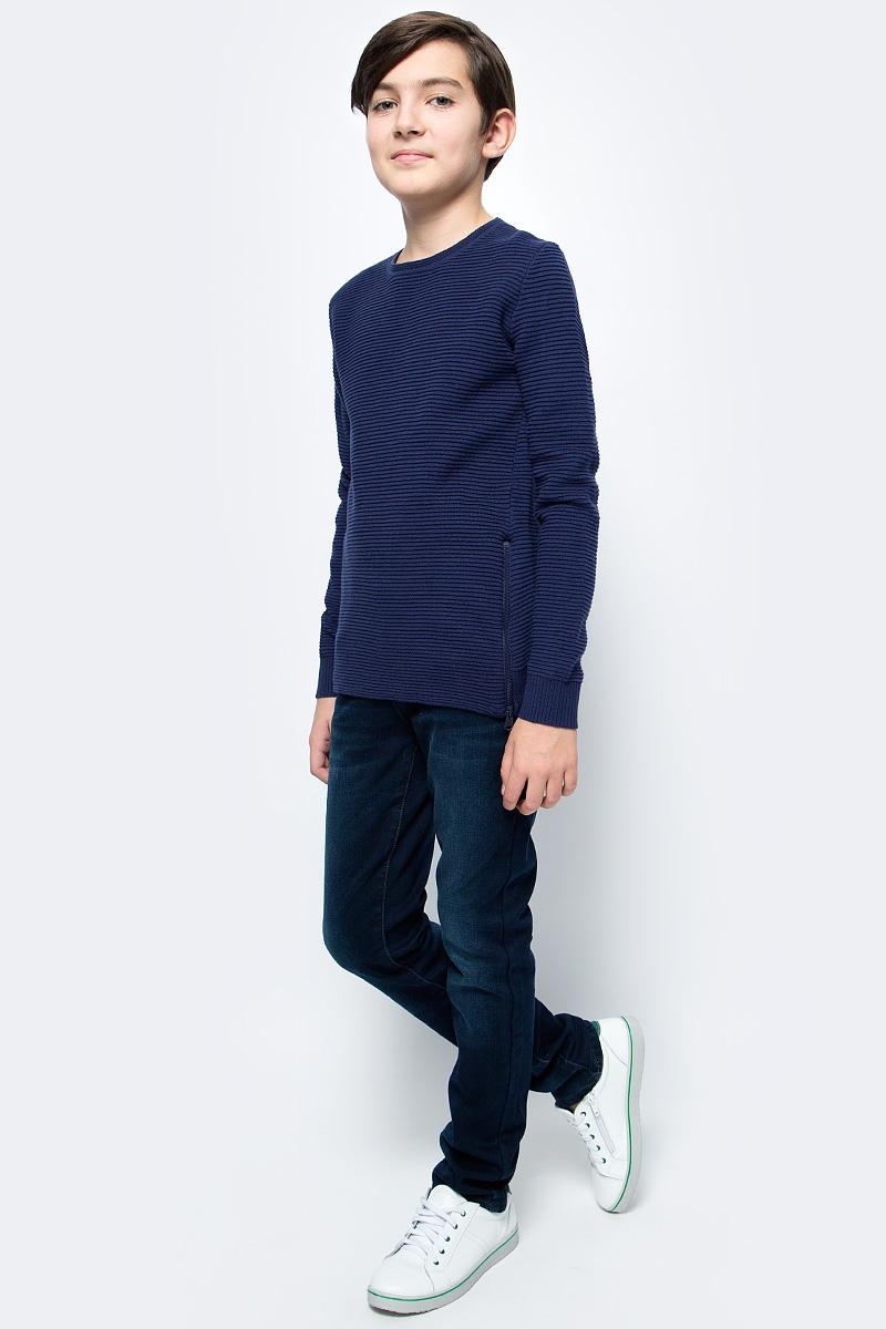 Джемпер для мальчика Overmoon by Acoola Kestrel, цвет: темно-синий. 21110310004_600. Размер 164 шорты для мальчика overmoon by acoola scud цвет темно синий 21120420005 600 размер 128