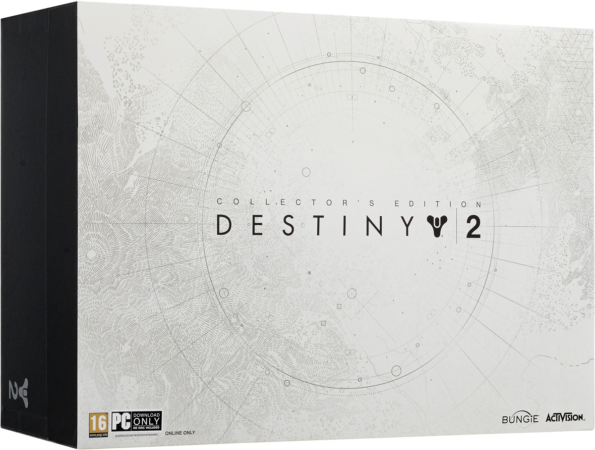 Destiny 2. Коллекционное издание (код загрузки, без диска), Bungie Software
