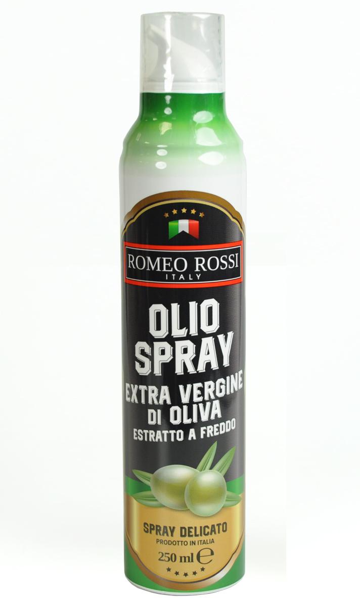 Romeo Rossi масло оливковое Extra Vergine спрей, 250 мл масла душистый мир масло shineway 250 мл