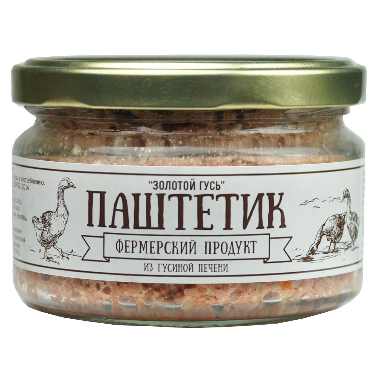 Фермерский продукт паштет золотой гусь, 200 г пюре сами с усами яблоко персик со сливками с 6 мес 100 г пауч