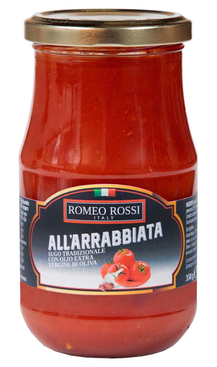 Romeo Rossi соус томатный для пасты Арраббиата, 350 г купить американские соусы