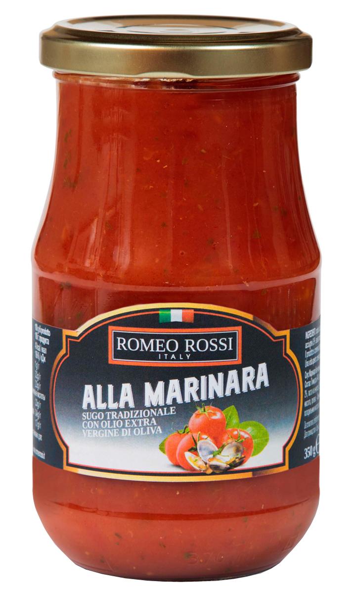 Romeo Rossi соус томатный для пасты Маринара без чеснока, 350 г купить американские соусы