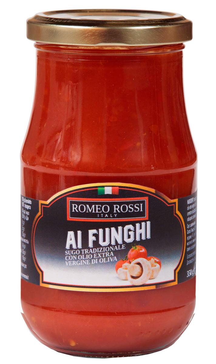 Romeo Rossi соус томатный для пасты с шампиньонами, 350 г купить американские соусы