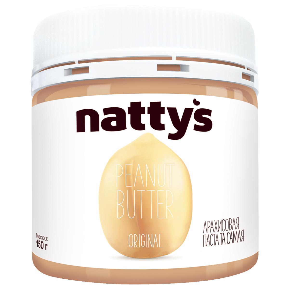 Natty's паста-крем арахисовая, 150 г