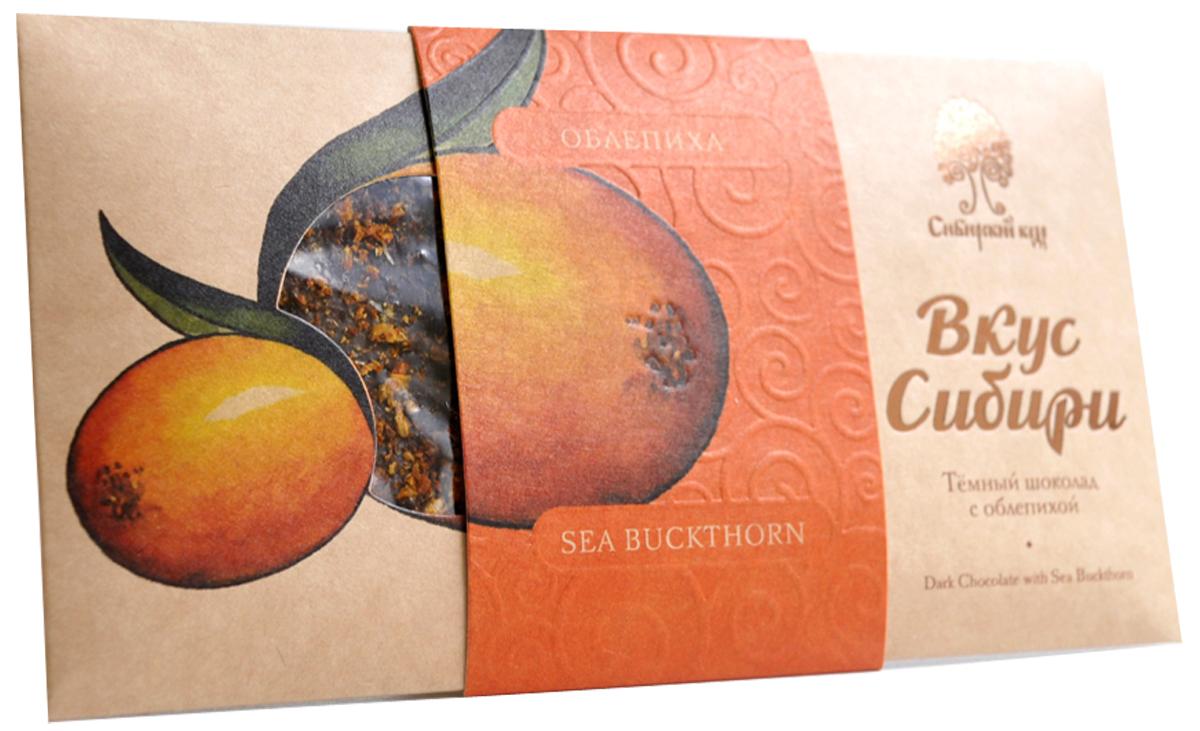Сибирский Кедр шоколад темный вкус Сибири с облепихой, 100 г волшебница золотой орех шоколад темный с миндалем 190 г