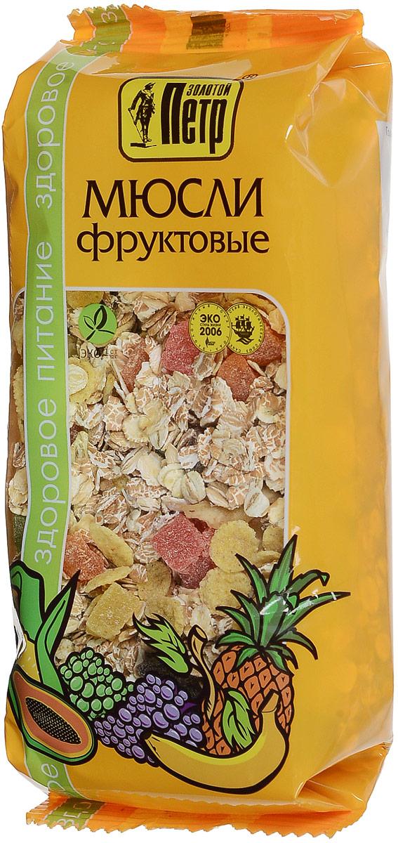 Золотой Петр мюсли фруктовые, 280 г