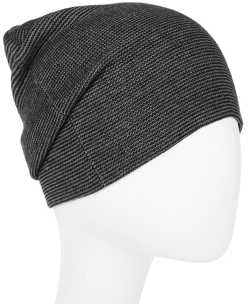 Шапка мужская ONeill Bm All Year Beanie, цвет: темно-серый. 7P4128-8031. Размер универсальный7P4128-8031
