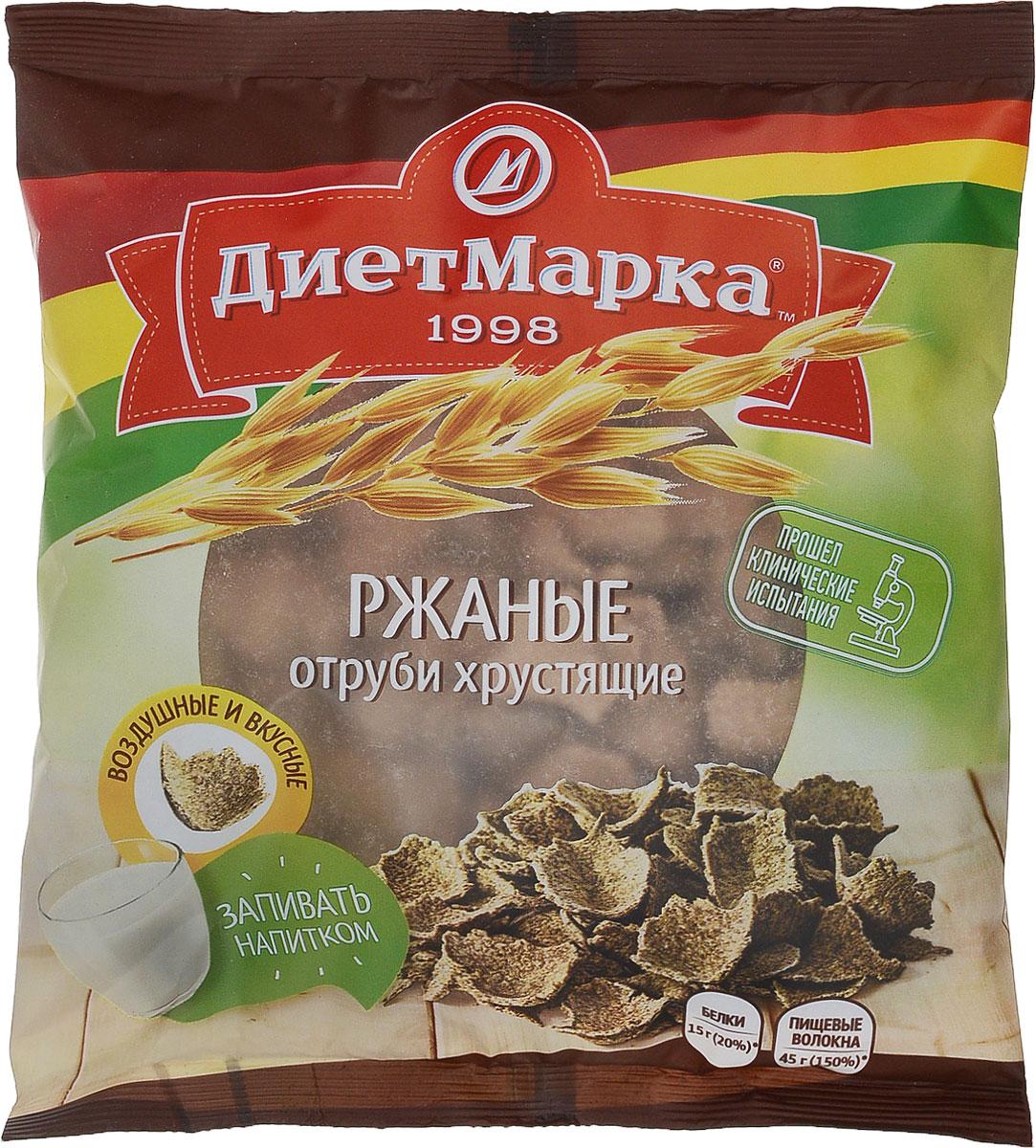 Диет Марка отруби хрустящие №29 ржаные, 100 г диадар отруби хрустящие ржаные бородинские 200 г