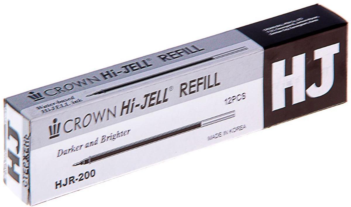 Crown Стержень для гелевой ручки цвет черный1219590Данный стержень предназначен для замены исписанного стержня гелевой ручки Crown. Компактен, занимает меньше места, чем новая ручка. Толщина линии — 0,5 мм, длина стержня — 138 мм.