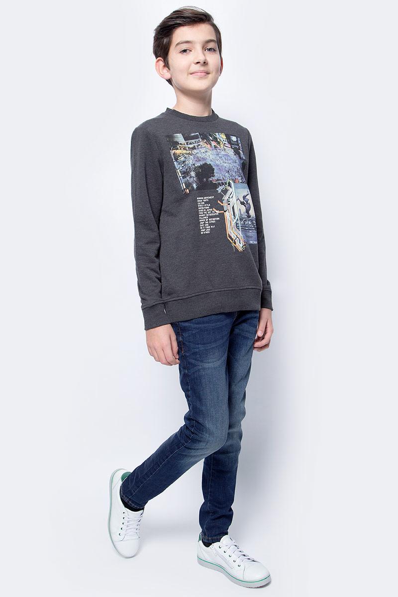 цена Джинсы для мальчика Tom Tailor, цвет: темно-синий. 6205776.09.30. Размер 170 онлайн в 2017 году