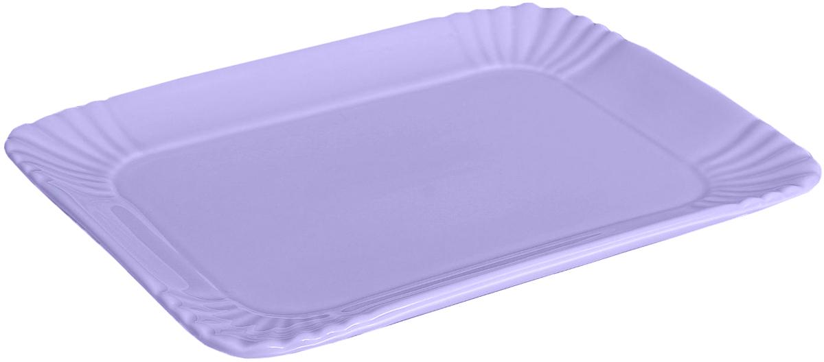 Блюдо Lamart Bon Appetit, цвет: лиловый, 17 х 23 х 3 см869824Блюдо Bon Appetit лиловое — именно то, что раскрасит серые будни яркими красками. Создайте для себя и своих близких атмосферу праздника. Данный товар соответствует российским стандартам качества, вам не придётся краснеть за такой подарок. Это уникальный товар по выгодной цене, который вы можете купить оптом у нас уже сегодня.
