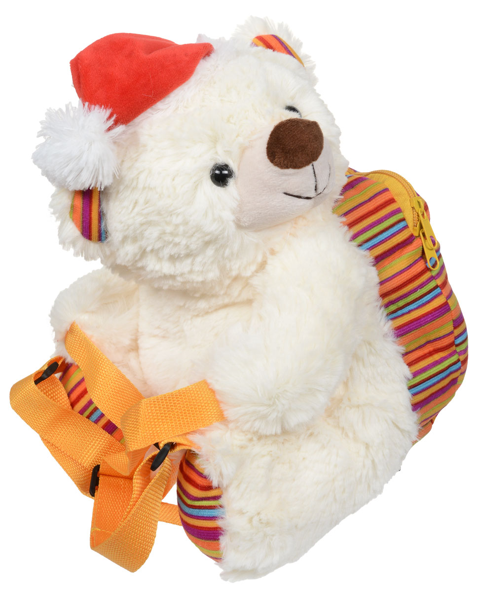 Сладкий новогодний подарок мягкая игрушка рюкзак Медвежонок-обнимашка, 600 г1595Как удивить и порадовать ребенка в главный зимний праздник? Представляем вашему вниманию необычный новогодний подарок - сладости в мягкой игрушке. Это сразу два сюрприза в одном!В качестве вкусной начинки служит прекрасно подобранный состав кондитерских изделий от самых известных производителей.Прекрасный вариант поздравления детей на утренниках в детских садах, школах и на новогодних елках.Игрушка предназначается для детей старше трех лет. Выполнена из текстильных материалов, искусственного меха, с набивкой из полиэфирных волокон и полимерных ранул, с элементами из пластика и металла.Уважаемые клиенты! Обращаем ваше внимание, что полный перечень состава продукта представлен на дополнительном изображении.