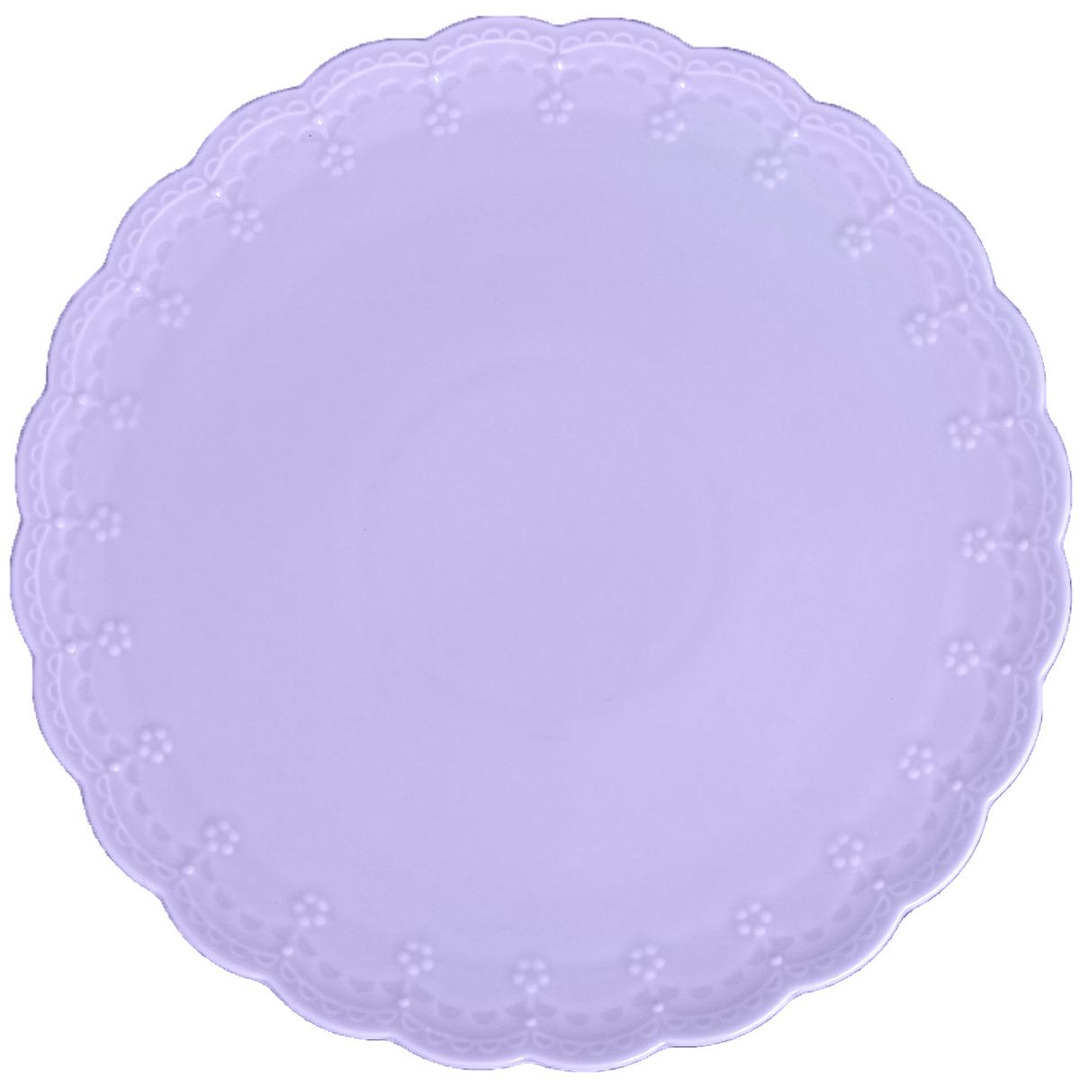 Блюдо для торта Lamart Dolci, цвет: лиловый, диаметр 27 см869832Блюдо для торта Dolci лиловое — прекрасный выбор для тех, кто хочет сделать запоминающийся презент родным и близким. Поможет создать атмосферу праздника. Такой подарок запомнится надолго. В нём прекрасно сочетаются цена и качество. И главное, это абсолютно уникальный товар, который вы можете купить оптом по самой привлекательной цене.