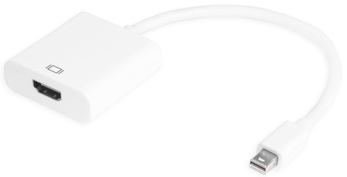 Greenconnect GCR-MDP2HD2 адаптер-переходник Apple mini DisplayPort 20M-HDMI 19FGCR-MDP2HD2Адаптер-переходник Greenconnect GCR-MDP2HD2 позволяет подключить MacBook, MacBook Pro или MacBook Air с Mini DisplayPort к HDMI обычных дисплеев, таких как CRT, LCD мониторы и проекторы, предлагает решения для цифровых развлекательных центров, конференц-залов, школ и корпоративных средств обучения. Особый алюминиевый корпус повышает его анти-интерференционную производительность. Поддерживает режим обнаружения, режим ожидания, автоматический переход в спящий режим.MiniDisplayPort - встречается на видеокартах и ноутбуках. HDMI - встречается на видеокартах, материнских платах со встроенным видео, мониторах, телевизорах, проекторах, плазменных панелях, мультимедиа-плеерах, фотоаппаратах, видеокамерах.Пропускная способность интерфейса: до 6,75 Гбит 225MHz/2,25 Гбит / канал.