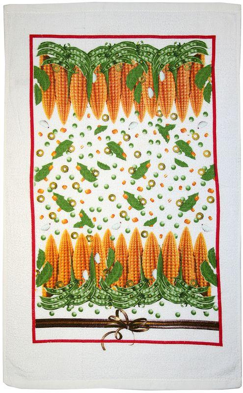 Полотенце кухонное Bonita Попкорн, 63 х 38 см01010213145100% хлопокРазмер: полотенца 38*63С оригинальными принтами на полотенцах вкусные домашние заготовки из свежих овощей и грибов всегда будут на вашей кухне.